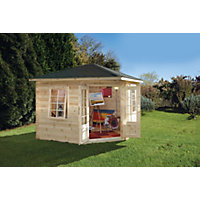 Forest Wenlock Log Cabin - 9ft 10in x 9ft 10in