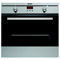 Indesit FIM33KAIX 60cm Single Built-In Electric Fan Oven - Inox