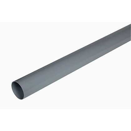 Image for Standard Rainwater Pipe - Grey - 5cm x 2m from StoreName