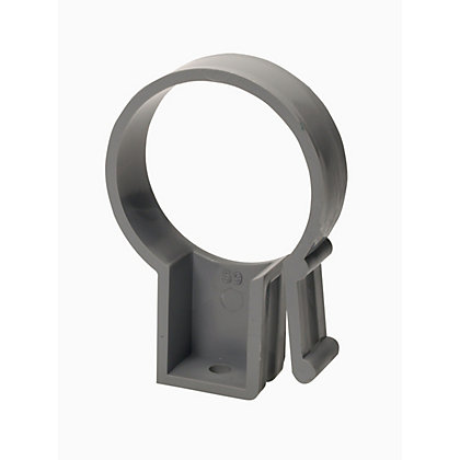 Image for 50mm Pipe Bracket - Grey - 85 x 58 x 20mm from StoreName