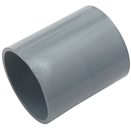 Image for 50mm Pipe Connector - Grey - 65 x 55 x 55mm from StoreName