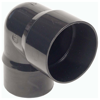 Image for 68mm 92.5 Degree Offset Bend - Black - 114 x 120 x 74mm from StoreName