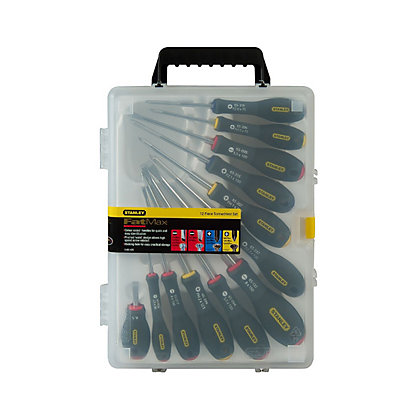Image for Stanley Fat Max Screwdriver Set - 12 Piece from StoreName