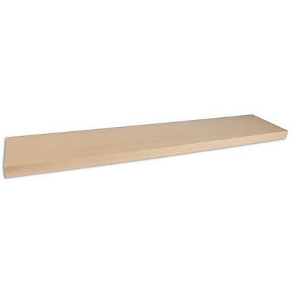 Image for Duraline Floating Shelf - Pale Oak - 118cm from StoreName