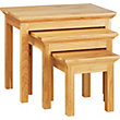 Kensington Nest of Tables - Oak.