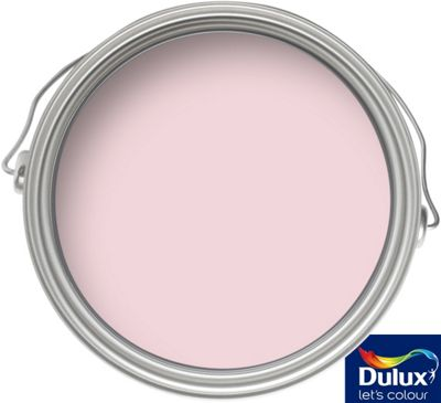 dulux pink sorbet matt emulsion colour paint 50ml tester