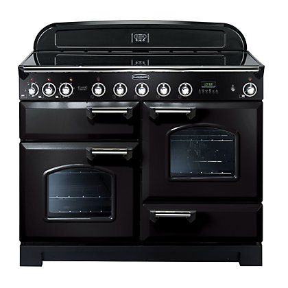 Image for Rangemaster Classic Deluxe 90430 110cm Electric Induction Cooker - Black from StoreName