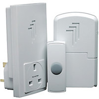Byron Db313 Wireless Port & Plug-Thru Chime Kit
