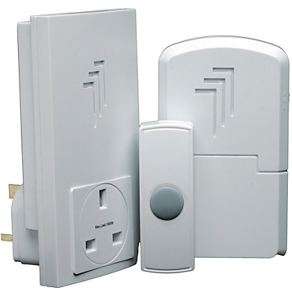 Image for Byron Db313 Wireless Port & Plug-Thru Chime Kit from StoreName