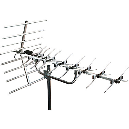 Image for Homebase - 52 Element Digital Aerial With Fixing Kit from StoreName