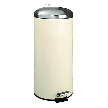 Image for Pedal Bin - 30L - Cream from StoreName
