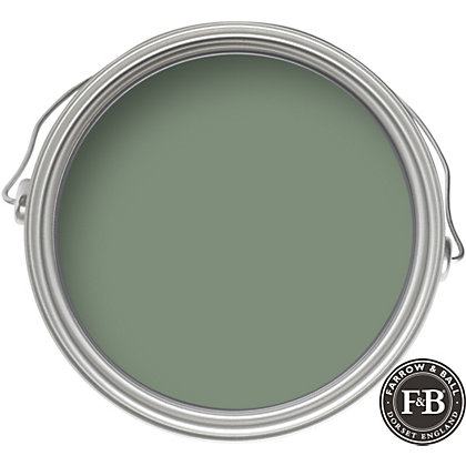 Farrow Ball Eco Card Room Green Exterior Eggshell Paint 2 5l