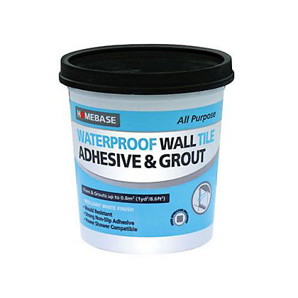 Image for Homebase Adhesive & Grout Standard – 3.4kg from StoreName