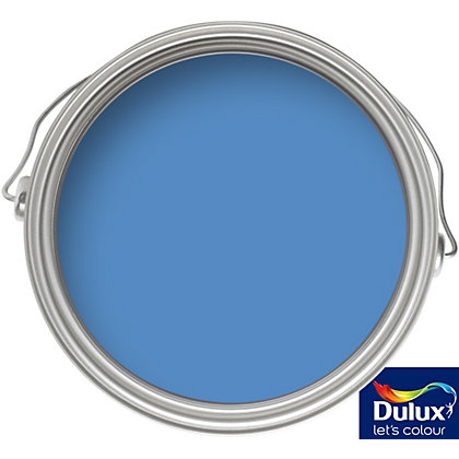 Image for Dulux Sea Blue - Matt Emulsion Colour Paint - 50ml Tester from StoreName