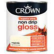 Crown Magnolia - Non Drip Gloss Paint - 750ml