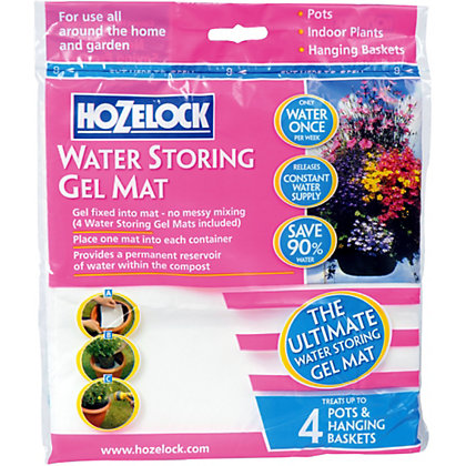 Image for Hozelock Water Storing Gel Mat (Pack of 4) from StoreName