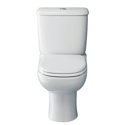 Image for Phase Close Coupled Toilet - White from StoreName