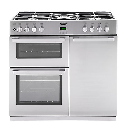 Image for Belling DB4 90DFT Professional Range Cooker - Stainless Steel from StoreName