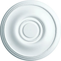 Artex Georgian Ceiling Rose - 38cm - Small