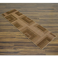 City Carpet Runner - Chocolate - 60 x 170cm