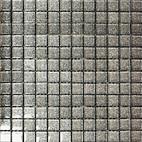 Ruby Grey Sparkle Mosaic Tiles - 300 x 300mm