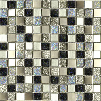 Image for Ruby Jewel Mosaic Tiles - 300 x 300mm from StoreName