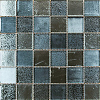 Lapis Apollo Mosaic Tiles - 300 x 300mm