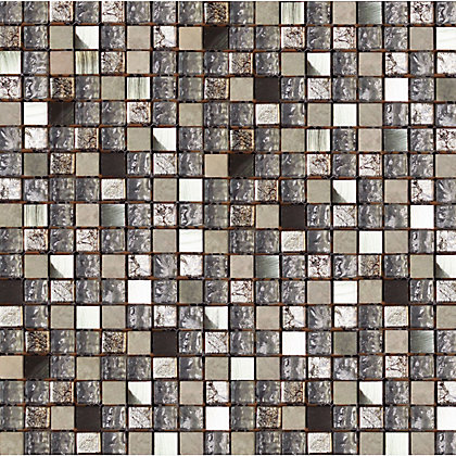 Image for Opal Saturn Mosaic Tiles - 300 x 300mm from StoreName