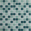 Peridot Green Mix Mosaic Tiles - 300 x 300mm