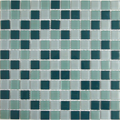 Image for Peridot Green Mix Mosaic Tiles - 300 x 300mm from StoreName