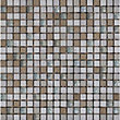 White Marble and Glass Mosaic Tiles - 300 x 300mm
