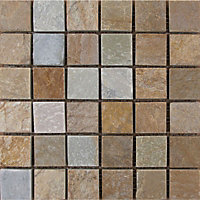 Desert Stone Mosaic Tiles - 300 x 300mm