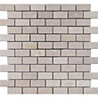 Ivory Stone Brick Mosaic Tiles - 300 x 300mm