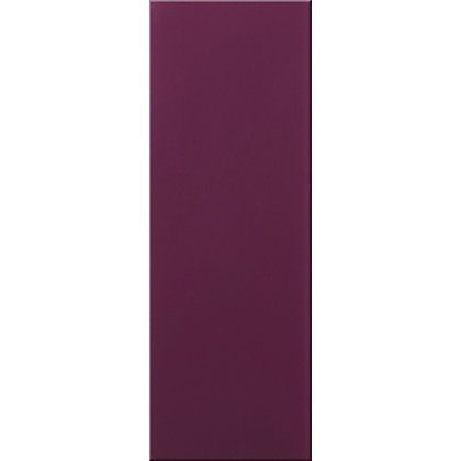 Glass Wall Tile Aubergine 200 X 100mm
