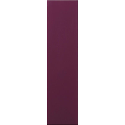 Image for Impact Glass Wall Tile Aubergine - 400 x 100mm from StoreName