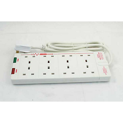 Image for 8-Socket Surge Extension Lead - 2m from StoreName