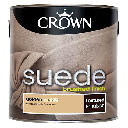 Image for Crown Solo Golden - One Coat Matt Emulsion Paint - 2.5L from StoreName