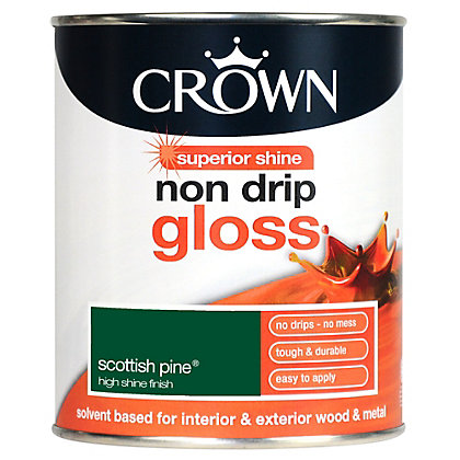 Image for Crown Scottish Pine - Non Drip Gloss Paint - 750ml from StoreName