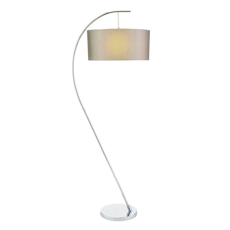 Lighting for Hyatt 6 light floor lamp black chrome