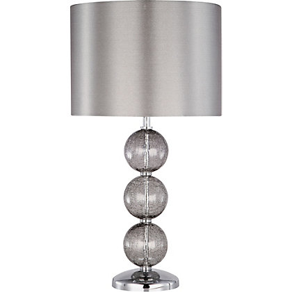 Image for Crackle Ball - Table Lamp - Smoky from StoreName