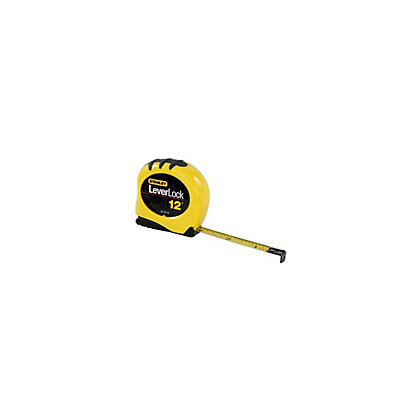 Image for Stanley Leverlock Tape Measure - 3m from StoreName