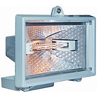 400W - Halogen Floodlight - Aluminium