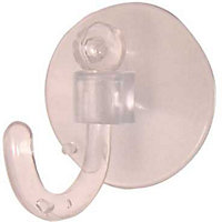 Suction Hook - Clear - 1 Pack