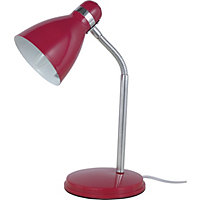 Hampton - Desk Lamp - Red