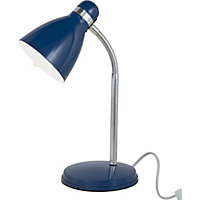 Hampton - Desk Lamp - Blue