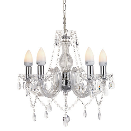 Image for Marie Therese - 5 Light Chandelier - Clear from StoreName