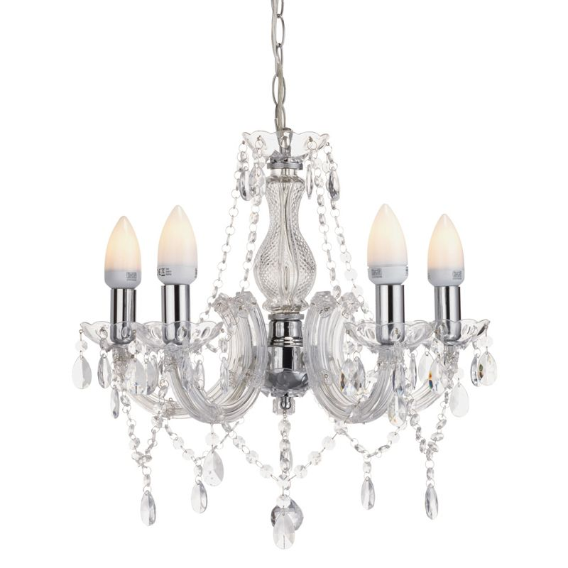 Homebase chandelier homebase therese 5 light chandelier for Homebase design your own bedroom