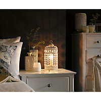 Bird Cage - Table Lamp - Cream
