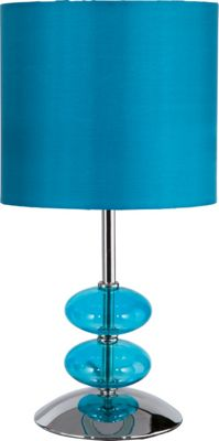 Homebase - Isabelle - Table Lamp - Small - Teal customer reviews - product reviews - read top ...