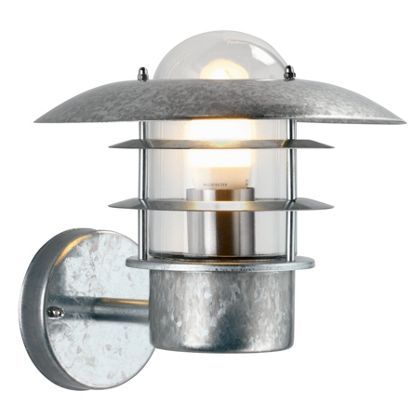 UFO - Garden Wall Light - Galvanised Steel at Homebase -- Be inspired and make your house a home ...